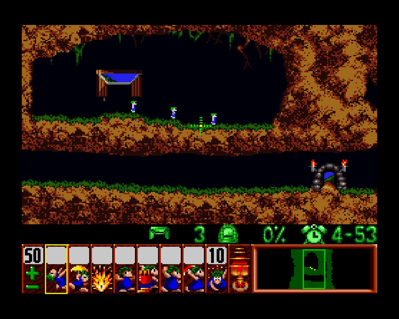 original lemmings game